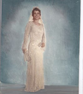 Margaret Hoyls wedding dress