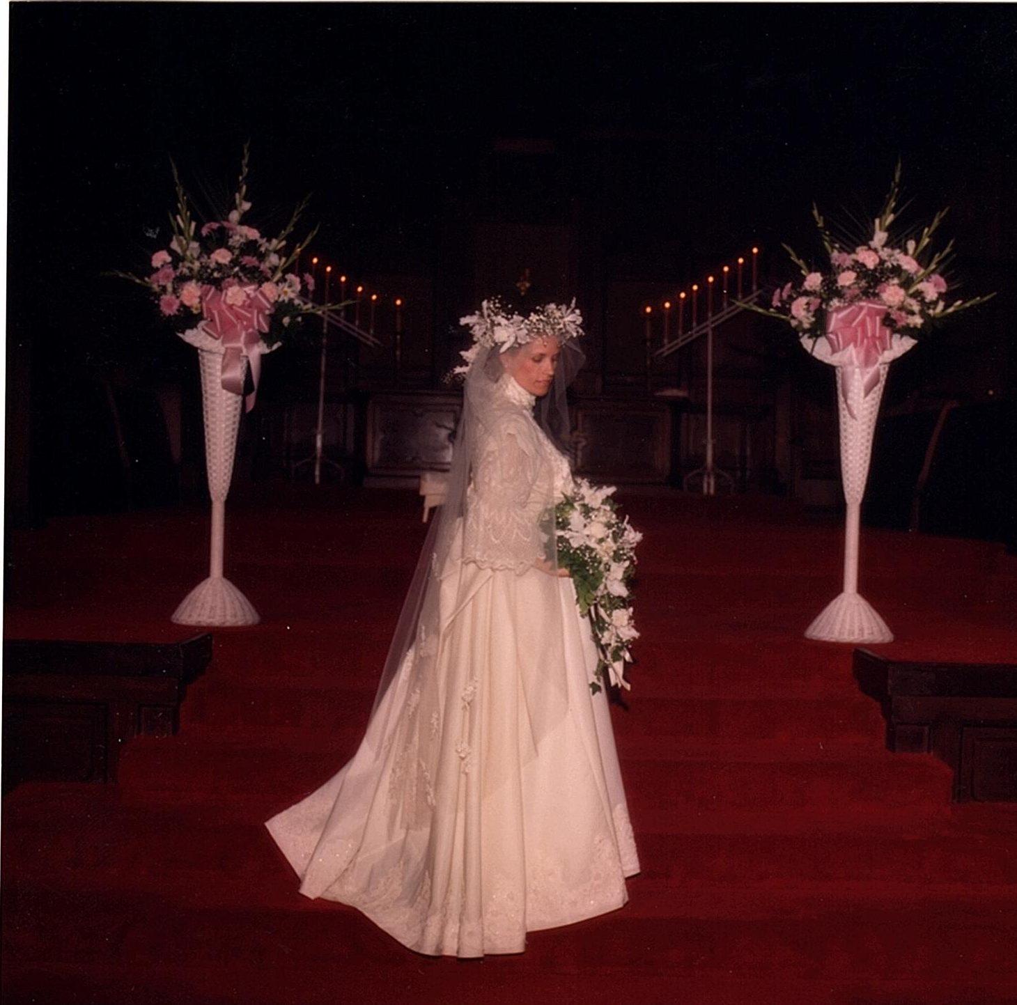 Carol Mann's Wedding Gown
