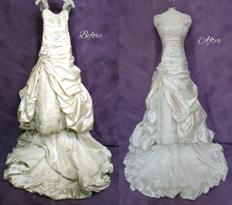 Good morning america reviews wedding dress cleaning for Where to get wedding dress cleaned and preserved