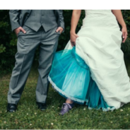 Ditch Tradition: Ombré Wedding Dress Trend