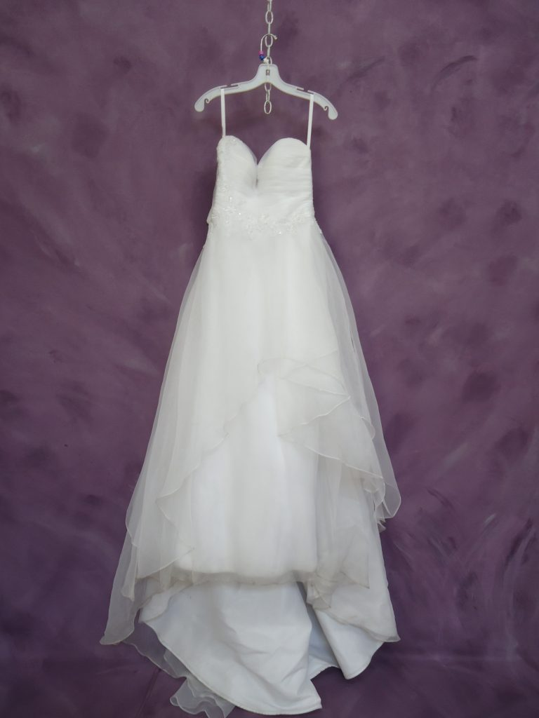 Before and After - Wedding Dress Cleaning Process | Heritage