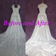 Embellished Wedding Gown Restoration