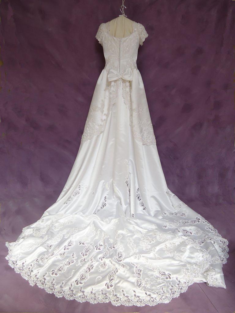 December Wedding Dress Restoration