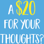 A Twenty for Your Thoughts
