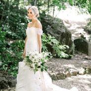 Mackenzie's Customized Vera Wang Wedding Gown