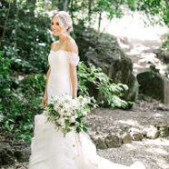 Mackenzie's Customized Vera Wang Wedding Gown