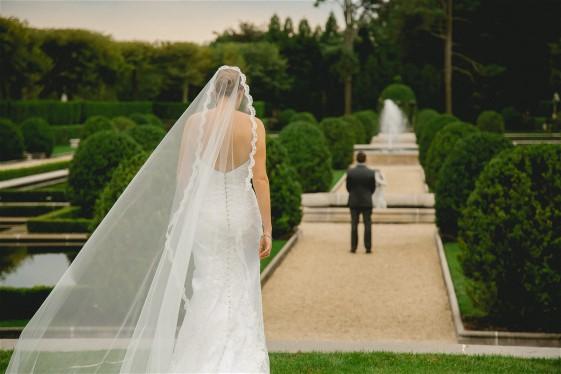 Julia and Michael have treasured wedding memories. Julia's wedding dress preservation will protect her wedding gown memories.