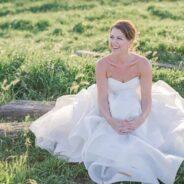 Kyle's Elegant and Whimsical Wedding Dress