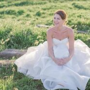 Kyle's Elegant and Whimsical Wedding Dress