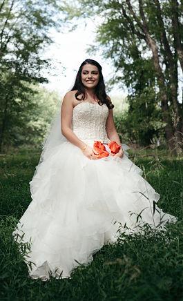 Diana's wedding dress preservation will help keep her wedding memories alive.