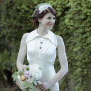 Exquisite 1930s Vintage Wedding Dress Replica