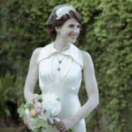Exquisite 1930s Vintage Wedding Dress Replica