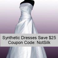 Got Silk? Save $25 on Non-Silk Fabrics