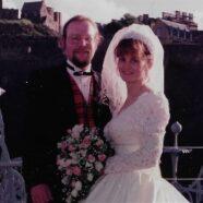Margarets Scottish Wedding Dress Restoration
