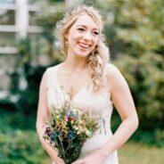 Sarah's Vintage Inspired Wedding Dress is Stunning