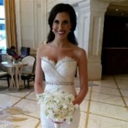 Nikki Mark Zunino Sample Wedding Dress a Perfect Fit