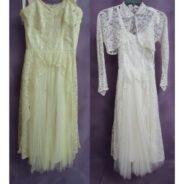 Vintage Lace Wedding Dress Restoration
