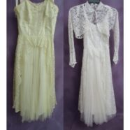 Vintage Lace Wedding Dress Restoration