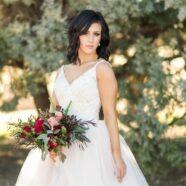 Tough Diana Wears Girly Wedding Dress