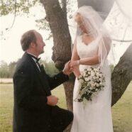 Jenny's Wedding Dress Preservation Preserves Memories of Husband