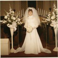 A 50th Anniversary Wedding Dress Restoration