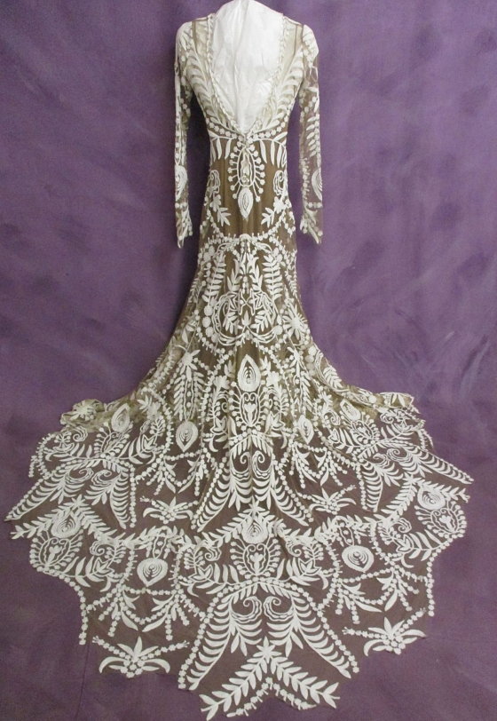 After wedding dress cleaning and preservation